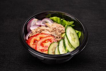Einen leckeren Thunfischsalat in Uelzen genießen.