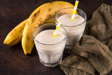 Eine leckere Bananen Limo in Uelzen trinken.