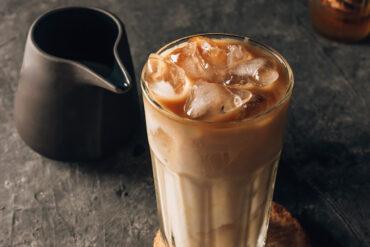 Einen Eiskaffee in Uelzen trinken