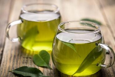 Einen leckeren grünen Tee in Uelzen trinken.