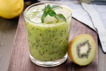 Leckere Kiwi Limo in Uelzen trinken.