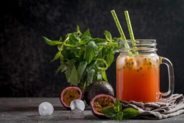 Eine leckere Maracuja Limo in Uelzen trinken.