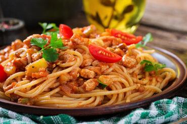 Leckere Spaghetti aus Uelzen.