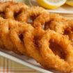leckere frittierte Tintenfischringe aus Uelzen.